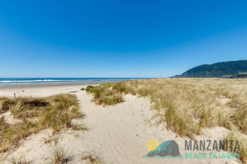 Manzanita Beach on a Sunny Day