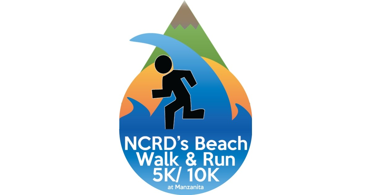 NCRDs Beach Walk & Run at Manzanita logo